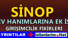 Sinop Evde Ek İş İlanları ve İş Veren Firmalar