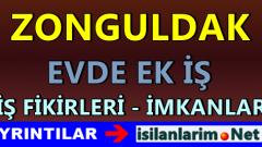Zonguldak Ev Hanımlarına Ek İş İlanları 2015