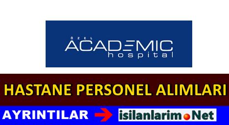 Academic Hospital İş İlanları Personel Alımı 2015