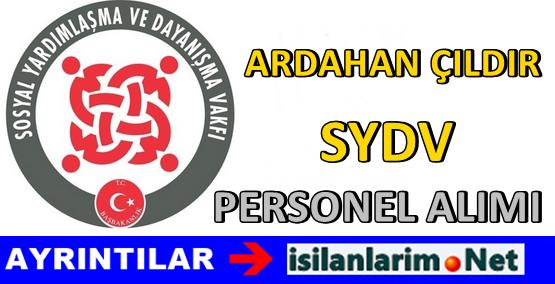 SYDV Ardahan Çıldır Personel Alımı 2015