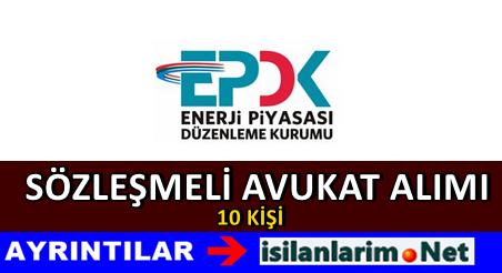 EPDK Sözleşmeli Avukat Alımı İlanı 2015