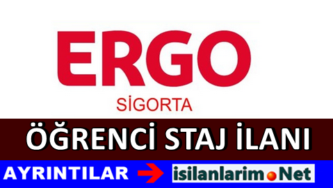 ERGO Sigorta Stajyer Öğrencilik Başvurusu