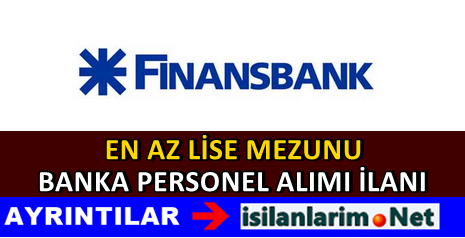 Finansbank Bireysel Satış Temsilcisi Alımı 2015