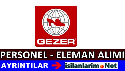 Gezer Ayakkabı Personel Alımı İş İlanları 2015