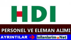 HDI Sigorta İş İlanları ve Personel Alımı 2015