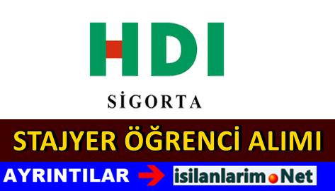 HDI Sigorta Üniversite Stajyer Öğrenci Alımı 2015