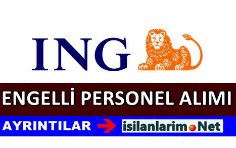 ING Bank Engelli Banka Personeli Alımı İlanı