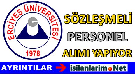 Erciyes Üniversitesi Sözleşmeli Hemşire Alımı 2015