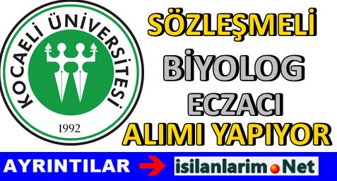 Kocaeli Üniversitesi Sağlık Personeli Alımı 2015