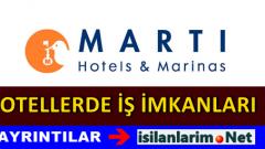 Martı Otel İşletmeleri Personel Alımı İlanları 2015