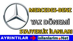 Mercedes Benz Üniversite Stajyerlik Başvurusu