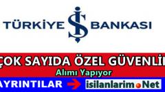 Türkiye İş Bankası İstanbul Özel Güvenlik Alımı  2015
