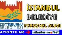 Zeytinburnu Belediye Müfettiş Yardımcısı Alımı 2015