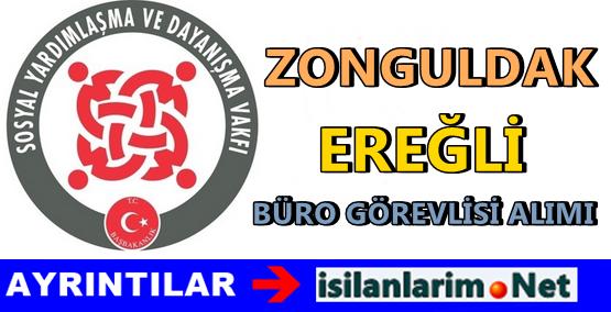 SYDV Zonguldak Ereğli 2015 Görevli Alımı İlanı