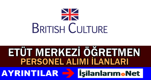 İngiliz Kültür Etüt Merkezleri Öğretmen Personel Alımı