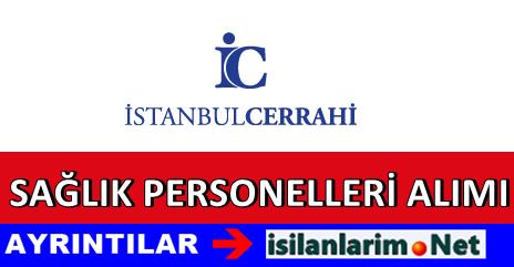İstanbul Cerrahi Hastane Personel Alımı İş İlanları