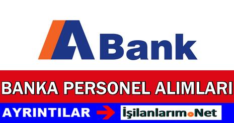 ABank Banka Personel Eleman Alımı İş İlanları 2015