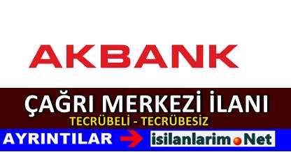 Akbank İstanbul Kocaeli Çağrı Merkezi Yetkilisi Alımı