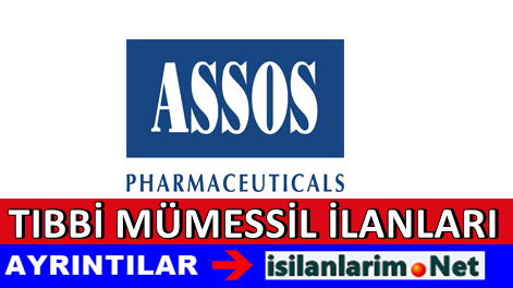 Assos İlaç Tıbbi Mümessil Alımı İş İlanları 2015
