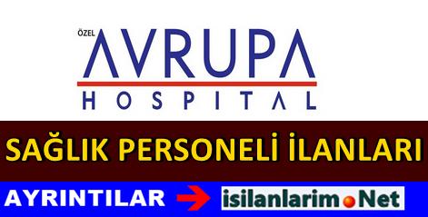 Avrupa Hospital Personel Hemşire Alımı 2015