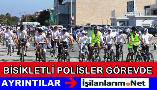 """Bisikletli Polisler """"Martılar"""" İstanbul'da Göreve Başladı"""
