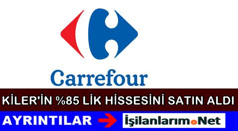 Kiler Alışverişin Yüzde 85'ini CarrefourSA Satın Aldı