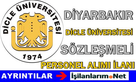 Diyarbakır Dicle Üniversitesi Sözleşmeli Eczacı Alımı