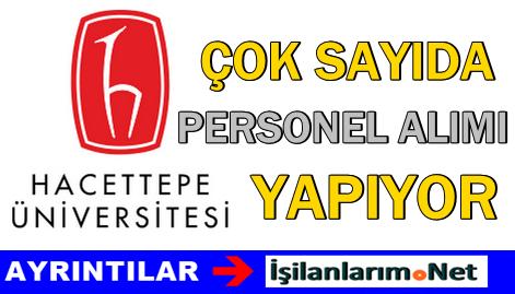 Hacettepe Üniversitesi 2015 Sözleşmeli Personel Alımı