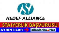 Hedef Alliance Üniversite Stajyeri Alımı 2015