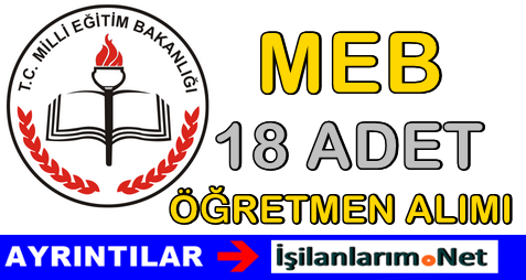 MEB Öğretmen Alımı Mayıs 2015
