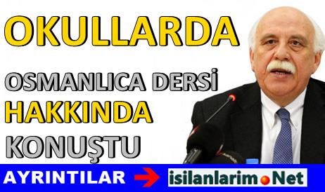 Okullarda Osmanlıca Dersi Zorunlu Olacak Mı