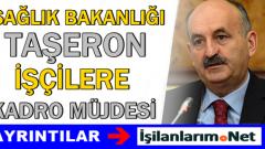 Sağlık Bakanı: Seçimlerden Sonra Taşeron İşçilere Kadro