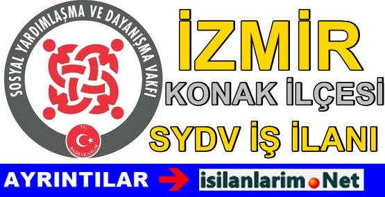 İzmir Konak SYDV 2015 Personel Görevli Alımı İlanı