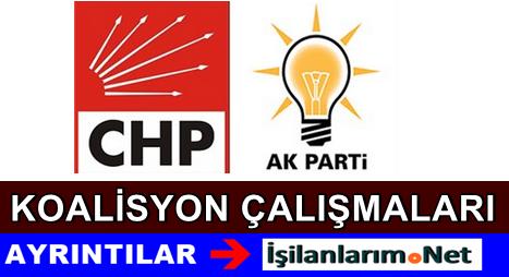 AKP CHP İle Koalisyon Yapmaya Daha Sıcak Bakıyor