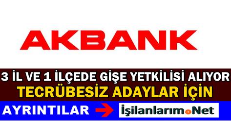 Akbank Tecrübesiz Gişe Yetkilisi Alımı İlanları 2015