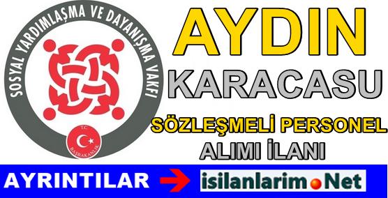 Aydın Karacasu SYDV Sözleşmeli Personel Alımı 2015