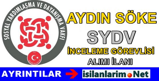 Aydın Söke SYDV Personel Alımı Başvurusu 2015
