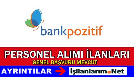 BankPozitif Personel Bankacı Alımı İş İlanları 2015