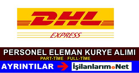 DHL Express Kargo Personel Kurye Alımı İş İlanları