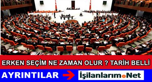 Türkiye'de Erken Seçim Olursa Hangi Tarihte Yapılır