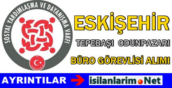 SYDV Eskişehir Tepebaşı Büro Personeli Alımı 2015