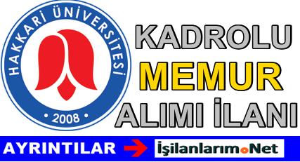 Hakkari Üniversitesi 2015 Yılı 2 Adet İç Denetçi Alımı İlanı