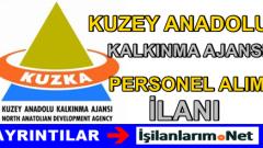 Kuzey Anadolu Kalkınma Ajansı Personel Alımı İlanı