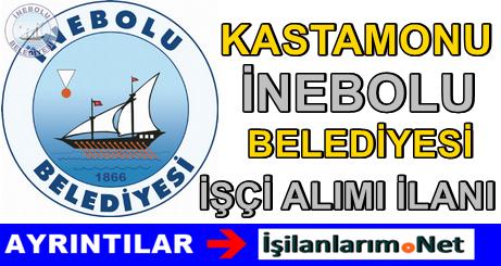 Kastamonu İnebolu Belediyesi Sürekli İşçi Alımı 2015