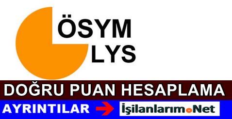 LYS 2015 Net Puan Hesaplama Nasıl Yapılacak
