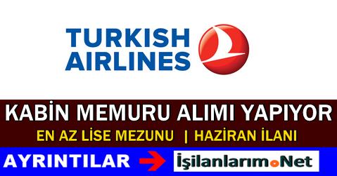 Türk Hava Yolları THY Bayan Kabin Memuru Alımı 2015
