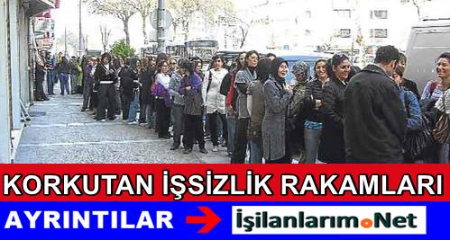 Türkiye'de İşsizlik Çığ Gibi Büyümeye Devam Ediyor