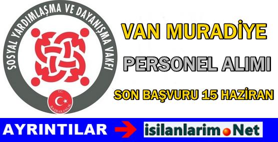 Van Muradiye SYDV Personel Görevli Alımı İlanı 2015