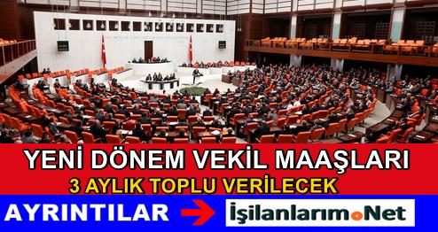 2015 Yılı Yeni Milletvekilleri Ne Kadar Maaş Alacak