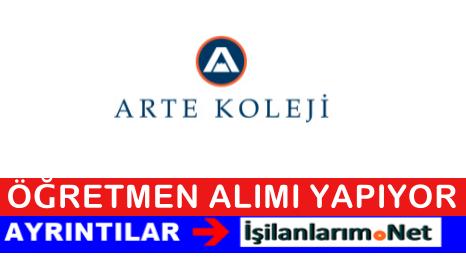 Ankara Özel Arte Koleji Öğretmen Alımı İş Başvurusu 2015